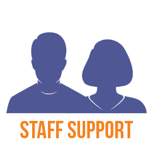 Give to support staff salaries
